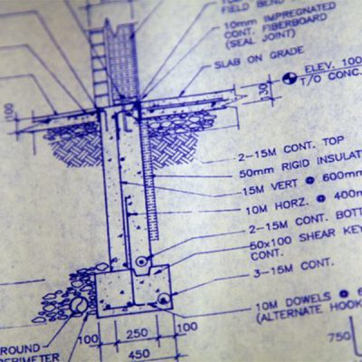 نقشه خوانی ساختمان بتنی