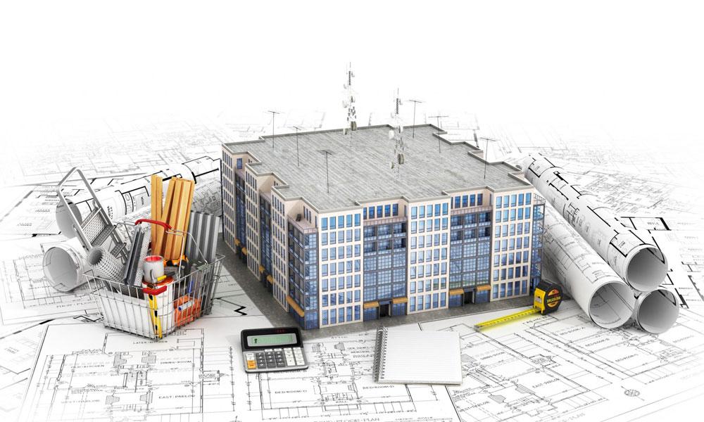 انواع نقشههای ساختمانی