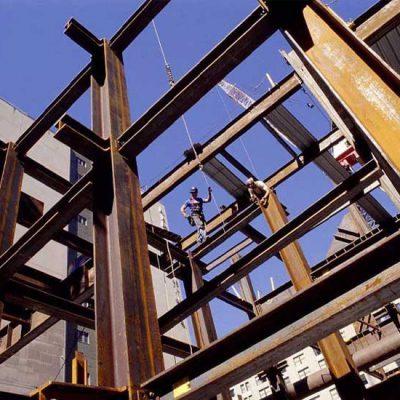 سازه اسکلت فولادی